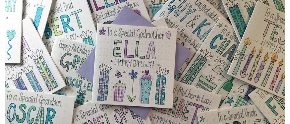 Luxury Personalised Greeting Cards