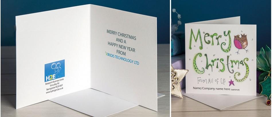 Business Logo Christmas Cards