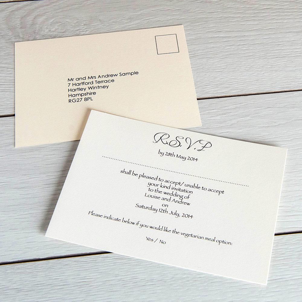 Sample Wedding Rsvp Cards graduation ceremony invitation – Sample Wedding Rsvp Cards