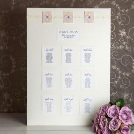 Elegance Table Plan
