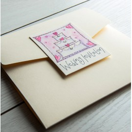 Happiness Pocketfold Invite