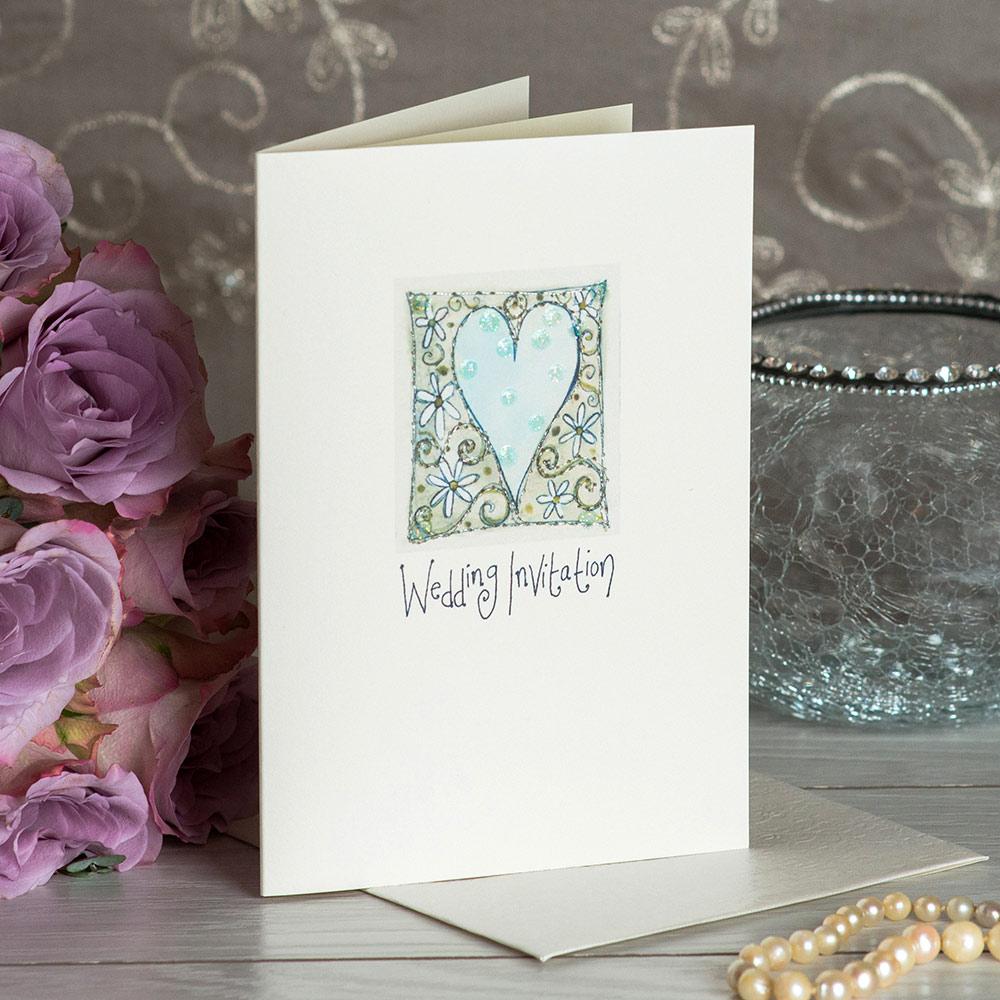 A6 Wedding Invite