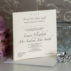 Simplicity Evening Invitation