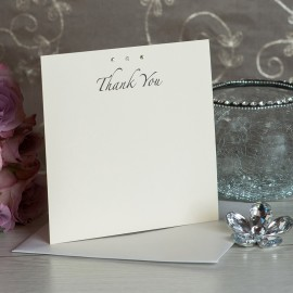 Simplicity Thank You Card