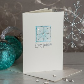 Snowflake Evening Invite